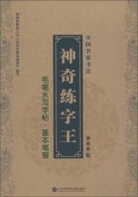 中国名家书法·神奇练字王:毛笔水写字帖(全3册)