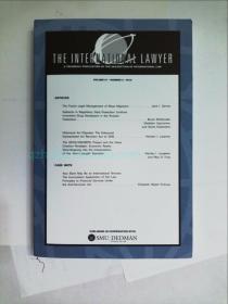 The International Lawyer  volume 51 number 2 2018 律师法律