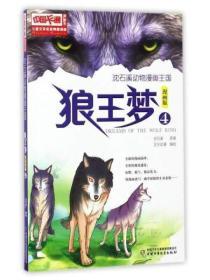 儿童文学名家典藏漫画 沈石溪动物漫画王国:狼王梦(4 漫画版)