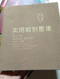 实用解剖图谱四肢分册(下册)布面精装书