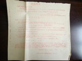 【文革精品大字报布告通告】火急呼吁 十万分火急 北京崇文区几个红卫兵和一个二年级少先队员被杀害事件    大8开  见图