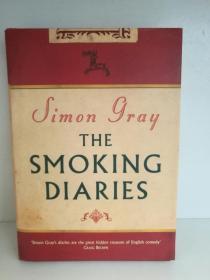 The Smoking Diaries by Simon Gray (Granta Books 2004年版)(英国文学)英文原版书