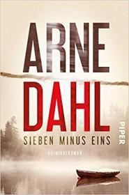 德语原版畅销小说 Sieben minus eins: Kriminalroman