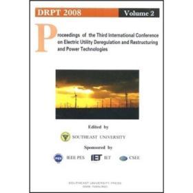 第三届电力解管制重构和电力技术国际会议论文集 9787564112493