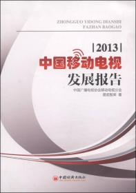 2013  中国移动电视  发展报告