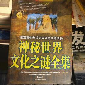 激发青少年求知欲望的典藏读物:神秘世界文化之谜全集