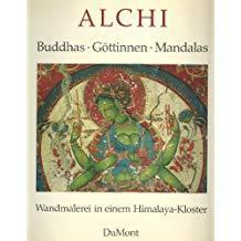 西藏 阿尔齐壁画 Alchi: Buddhas, Gottinnen, Mandalas : Wandmalerei in einem Himalaya-Kloster