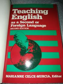 TEACHING ENGLISH AS A SECOND OR FOREIGN LANGUAGE SECOND EDITION
