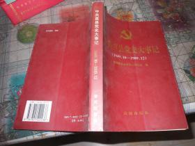 中共莒县党史大事记1949.10-1989.12