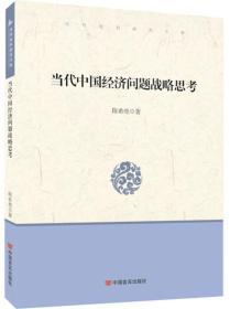 当代中国经济:当代中国经济问题战略思考