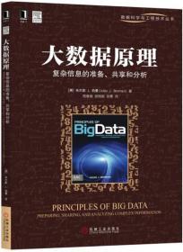 大数据原理:复杂信息的准备、共享和分析