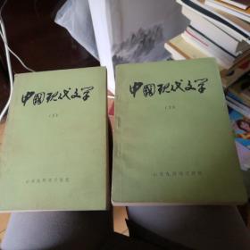 中国现代文学(上下两册全)