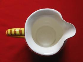 老陶瓷牙缸1个