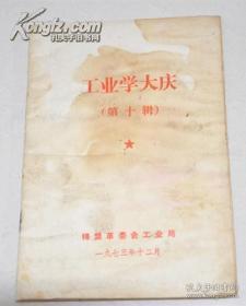 文革书 工业学大庆 (第十辑) 1973年