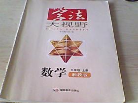 学法大视野(数学湘教版九年级上册)【带答案】