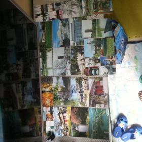 北京大学明信片20张