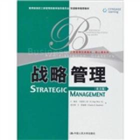 现货-战略管理:英文版
