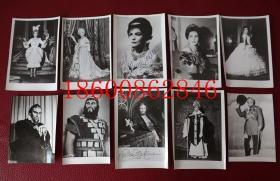 罗马尼亚著名歌剧歌唱家Virginia Zeani夫妇签名照片