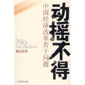动摇不得:中国经济改革若干问题