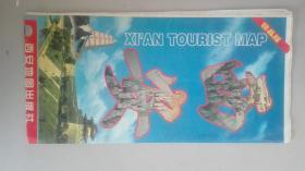 陕西西安交通旅游图