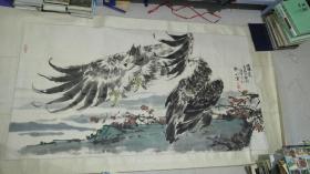 辽宁省美术家协会副主席(张策)大幅精品约15平尺