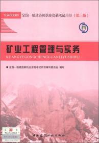 全国一级建造师执业资格考试用书:矿业工程管理与实务(第3版)