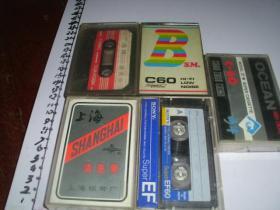 5磁带清洗带,空白带一些
