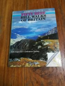 John Cleares Fifty Best Hill Walks of Britain 约翰克莱尔的英国五十佳山徒步之旅
