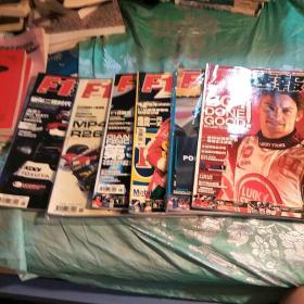 F1速报2006(1.3.4.5.6.9)6册合售。每册有海报。两册全新