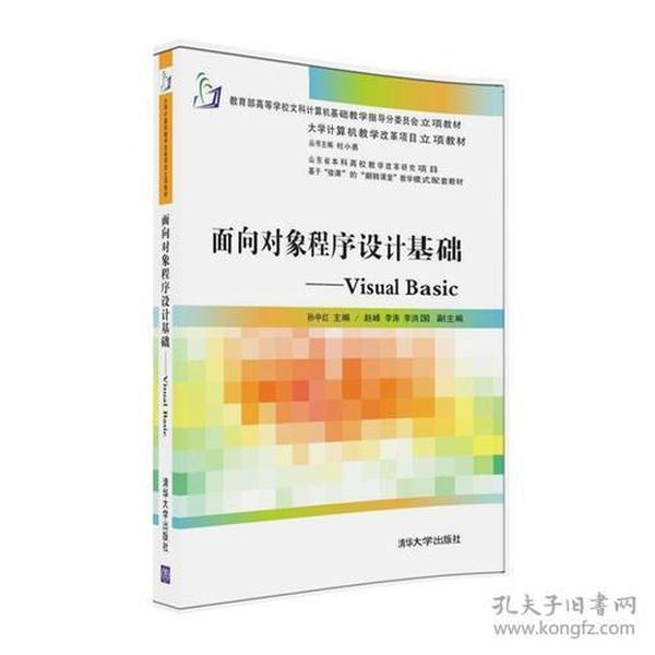 正版库存未翻阅 面向对象程序设计基础----Visual Basic