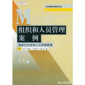 组织和人员管理案例  有黄点