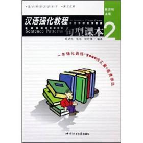汉语强化教程(句型课本2适合初级汉语水平)