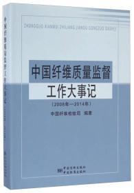 中国纤维质量监督工作大事记(2008年-2014年)