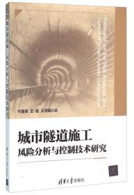 城市隧道施工风险分析与控制技术研究