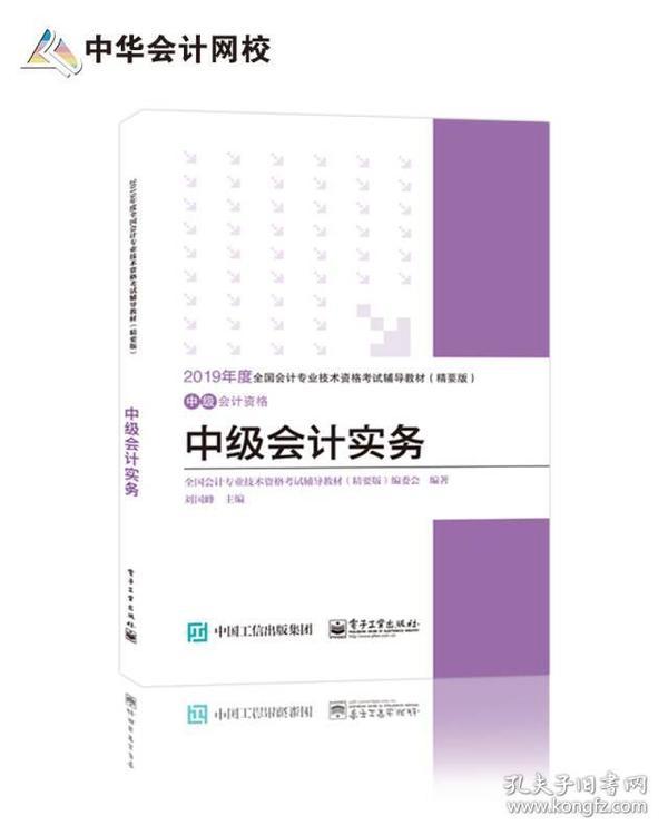 中华会计网校·2019全国会计专业技术资格考试辅导教材(精要版):中级会计资格·中级会计实务