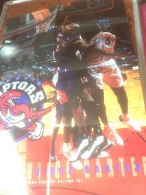 买满就送 某NBA篮球运动员的海报一张