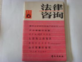 法律咨询 集刊6