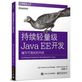 持续轻量级Java EE开发:编写可测试的代码