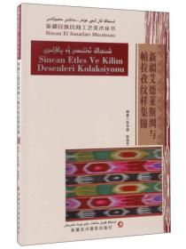 新疆民族民间工艺美术丛书-新疆艾德莱斯绸与帕拉牧纹样集锦