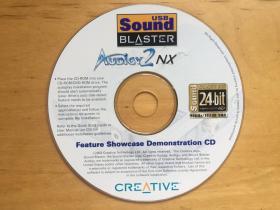 Feature Showcase Demonstration 创新Audigy2NX USB Sound Blaster外置声卡  光盘