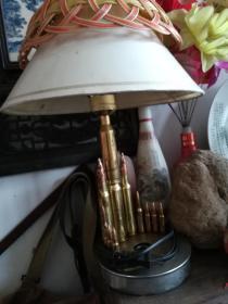 工艺台灯;炮克子弹壳工艺台灯