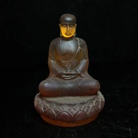 清代尼泊尔回流琉璃地藏王
