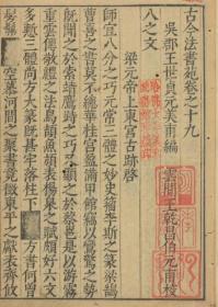 【复印件】古今法书苑.明万历古籍线装共20册