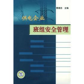 供电企业班组安全管理