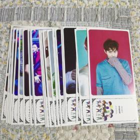 EXO独宠时代系列明信片22张合售