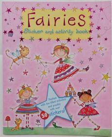 Fairies  sticker and activity book  平装书  仙女贴纸