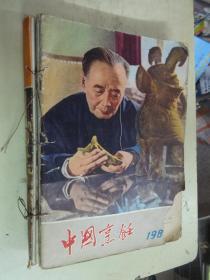 中国烹饪杂志  (1981年4期、1982年1——6期、1984年2、3、4、5期、家庭西餐菜谱)