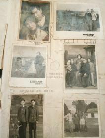 老相册《有差不多200张老相片》50-60年代的