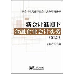 新会计准则下金融企业会计实务(第2版)