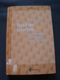 Thin-Film Solar Cells: Next Generation Photovoltaics and Its Applications 薄膜太阳能电池  2004年德国出版 英语原版